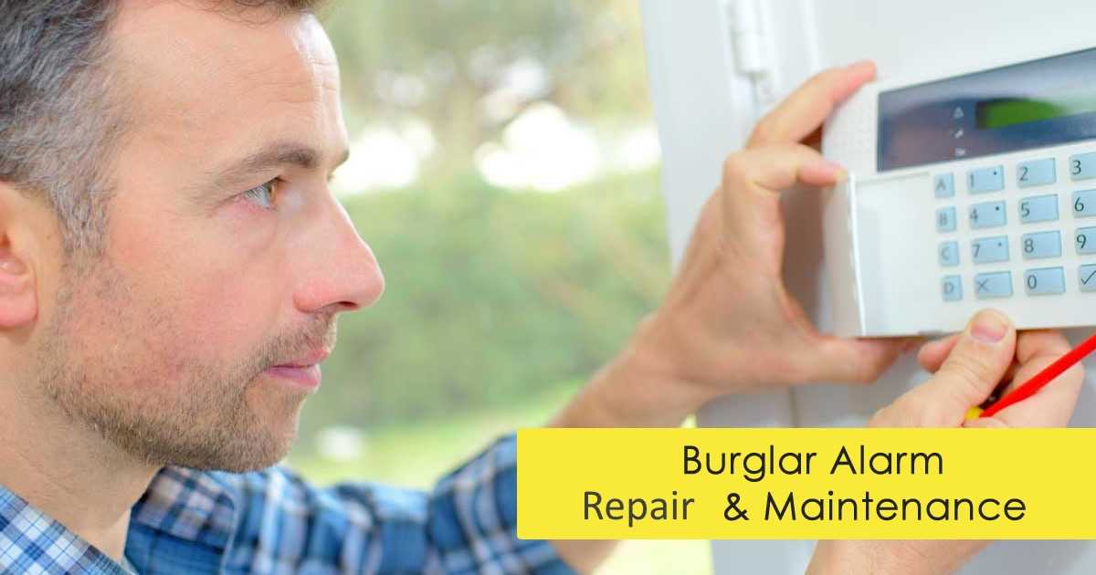 East London alarm repair
